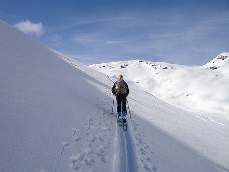 Backcountry Skiiing, Ski Touring, Skiing
