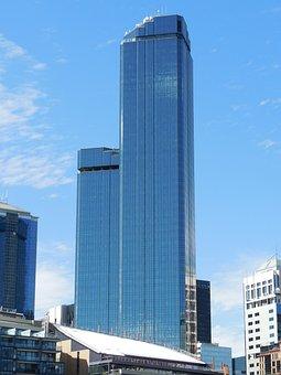 Melbourne, Australia, Rialto Towers, Skyscraper