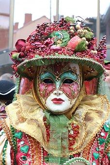 Mask, Carnival, Decoration, Spring, Art, Clothing, Face