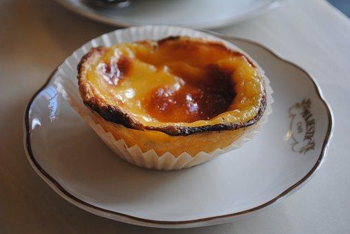 Portuguese Custard Tart, Pastel De Nata, Lisbon, Sweet
