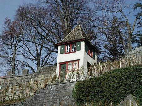 Rapperswil Jona, Castle Hill, Switzerland, View, Nature