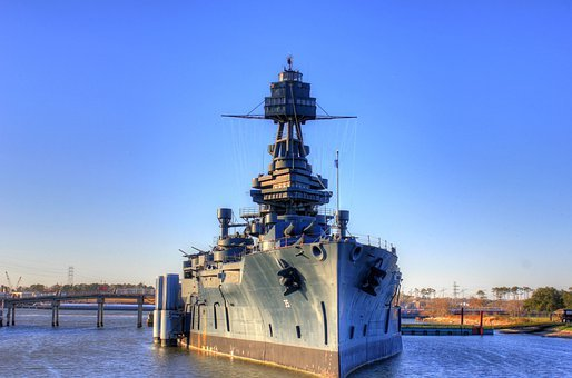 Battleship, Usa, Texas, San Jacinto Monument, Marine