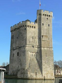 Port, The Rochelle, Charente-maritime, Fortress, Tower