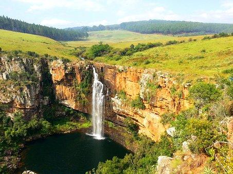 Berlin Waterfall, Mpumalanga, South Africa, Safari