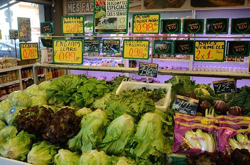 Grocery, Stores, Vegetables, Greens, Foods, Edible