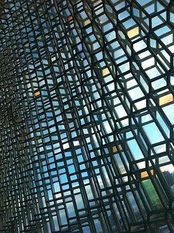 Icelandic, Oprah, Glass, Wall