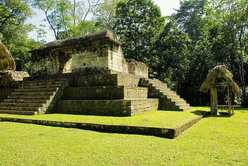 Guatemala, Ceibal, Maya, Pyramid, Sayaxche, Rainforest