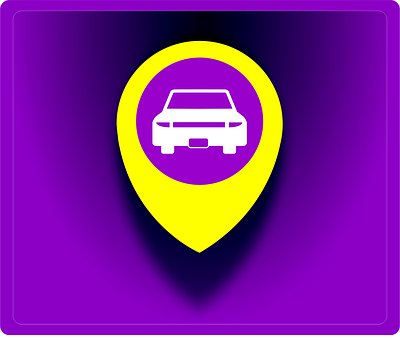 Local, Plate, Identification, Soon, Car, Taxi, Icon