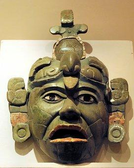 Guatemala-city, Maya, Museum, Mask, Jade, Falls, King