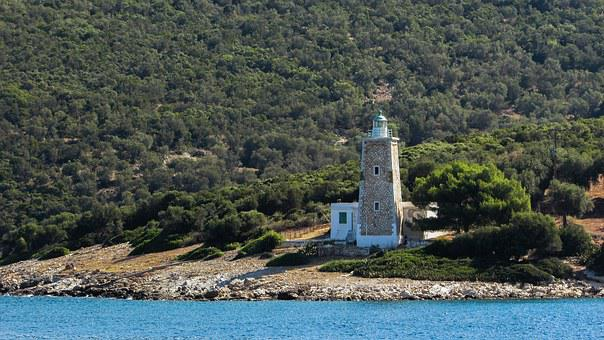 Lighthouse, Pelio, Peninsula, Scenery, Greece, Magnesia