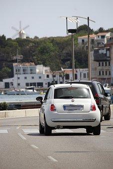 Fiat 500, Mahon, Menorca, Places Of Interest
