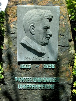 Altenberg, Max Nacke, Memorial, Monument, Relief