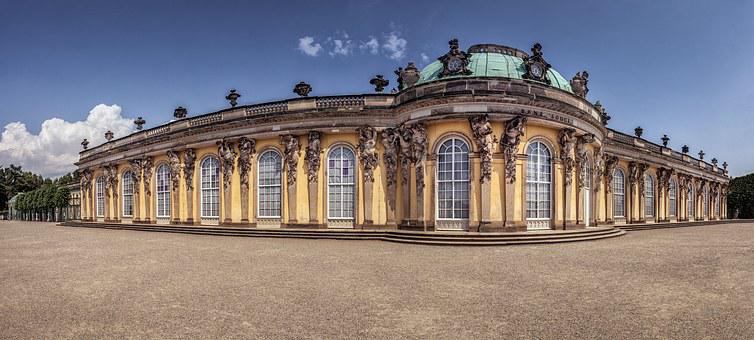 Berlin, Potsdam, Castle, Architecture, Building