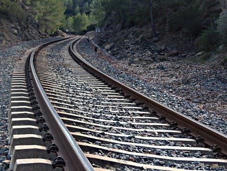 Train Tracks, Rails, Travel, Train, Railway, Traveling