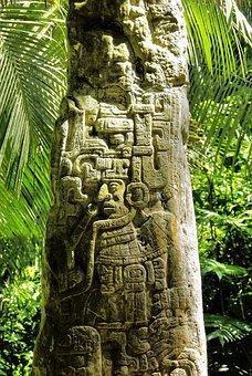 Guatemala, Ceiba, Sayaxche, Stone, Maya, Rainforest