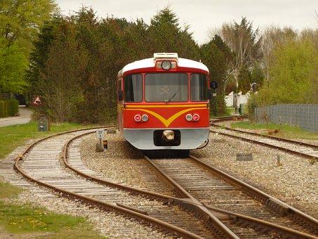 Train, Station, Tracks, Transport, Rails, Train Track