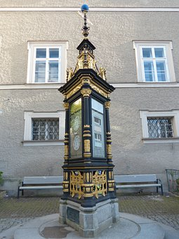 Weather Station, Weather Display, Gilded, Air Pressure