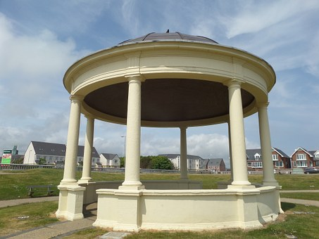 Pavilion, Summer House, Round, Blyth, Bandstand