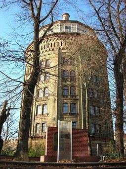 Water Tower, Berlin, Pankow, Architecture
