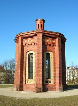 Architecture, Berlin, Perspective, Pankow, Water Tower