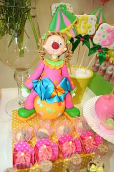 Birthday Girl, Party Circus, Rosa, Green, Dulces, Toy