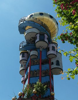 Kuchlbauerturm, Tower, Abensberg, Bavaria, Building