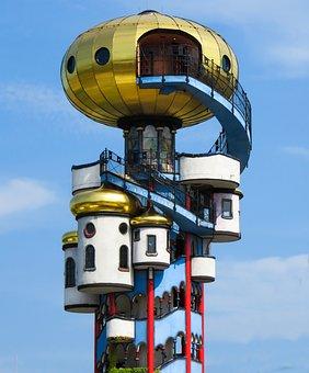 Hundertwasser, Art, Building, Hundertwasser House