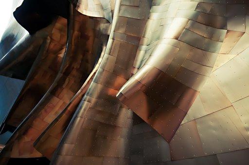 Facade, Architecture, Metal, Material, Contemporary