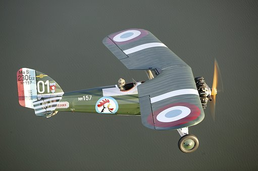 Airplane, Plane, Fighter, Water, Oldster, Nostalgia