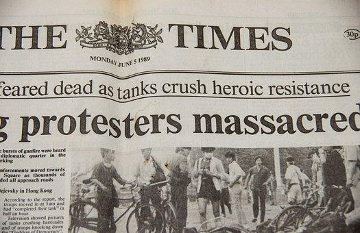 Newspaper, Historic, Front, Page, Photos, Headline