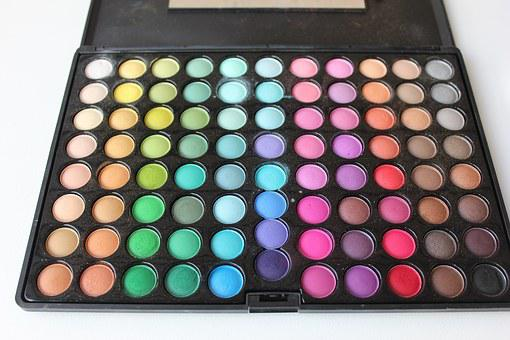 Makeup, Palette, Colorful, Eye Shadow, Shadow