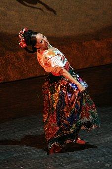 Dancer, Mexican, Culture, Mexico, Traditional, Mariachi
