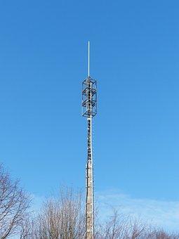 Transmission Tower, Mast, Radio Antenna, Antenna