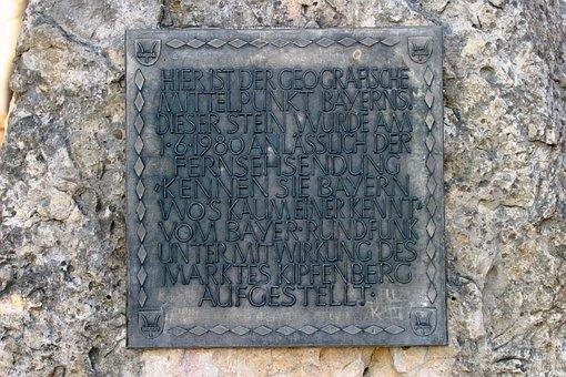 Monument, Kipfenberg, Mittelbunkt Bavaria