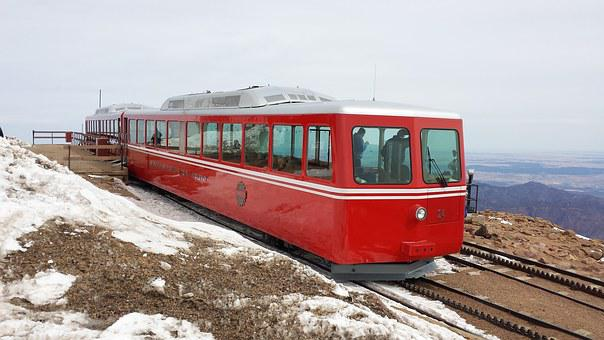 Cog Railway, Pike's Peak, Train