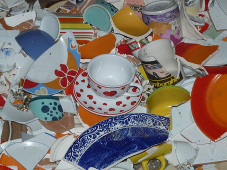 Stag Night, Tableware, Rant, Porcelain, Shard, Wedding