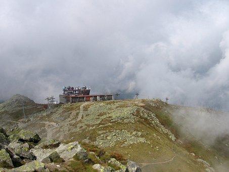Slovakia, Landscape, Mountains, Meteorological Station