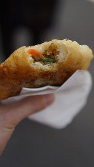 Eat, Hotteok, Snack, Street Food