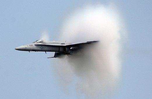 Supersonic, Sound Barrier, Speed, Fighter Jet, Jet
