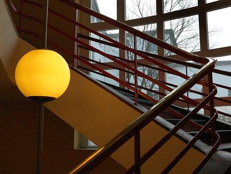 Staircase, Berlin, Rbb, Light