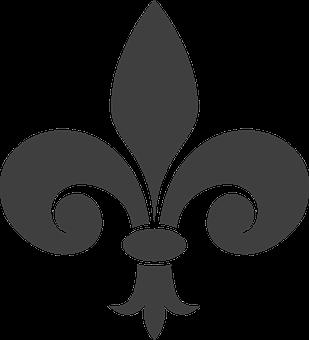 Fleur-de-lis, Heraldry, Gray, Symbol, Fence