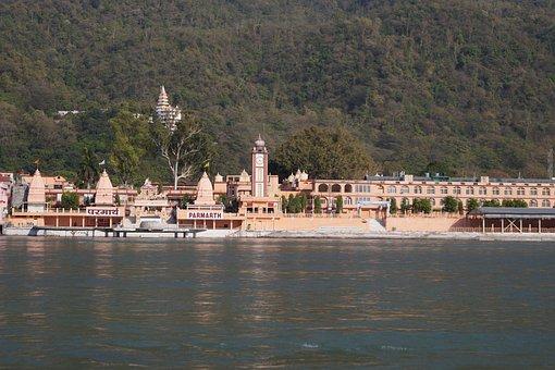 Temple, Rishikesh, India, Hindu, Holy, Hinduism