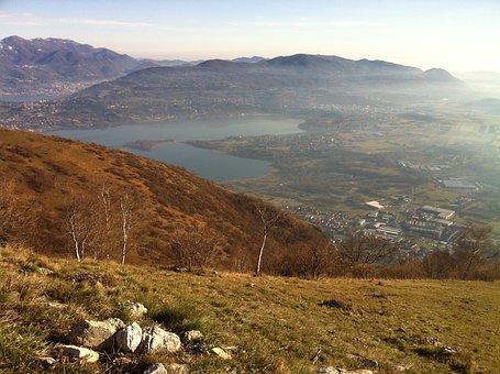 View From Monte Barro, Alta Brianza, Lake, Annone