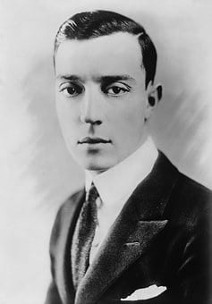 Buster Keaton, Actor, Black And White, 1920, Fashion