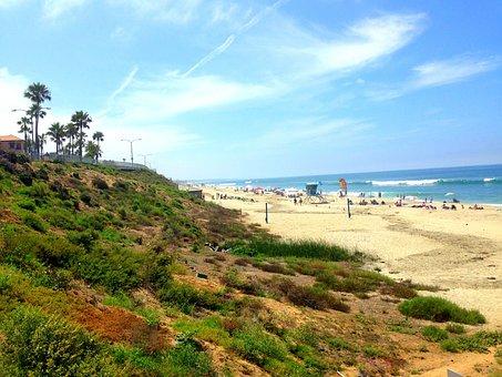 Carlsbad Beach, San Diego, California Beach, Ocean