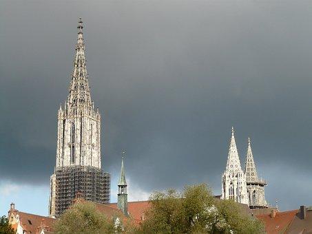 Ulm Cathedral, Building, Münster, Ulm, Church, Dom