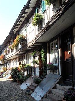 Facades, Historically, Old Town, Facade, Building