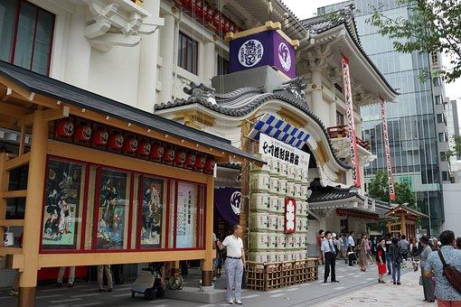 Ginza, Tokyo, Japan, Kabuki, Kabuki-za, Theatre