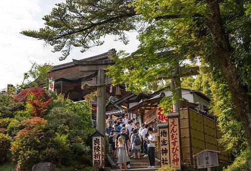 Japan, Kyoto, Kiyomizu-dera, Japanese, Asia, Landmark