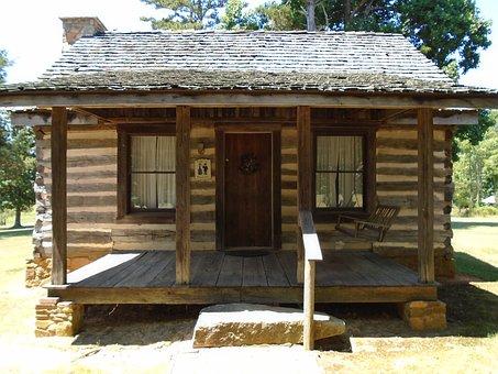 Quaker, Log, Cabin